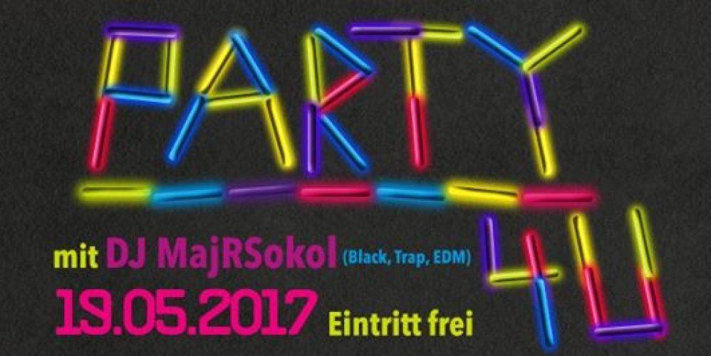 19. Mai 2017 Party4u geht in die zweite Runde