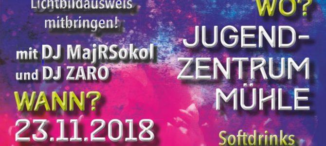 23.11.2018 Party4u